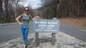 Flying Ravens Roost along the Blue Ridge Parkway